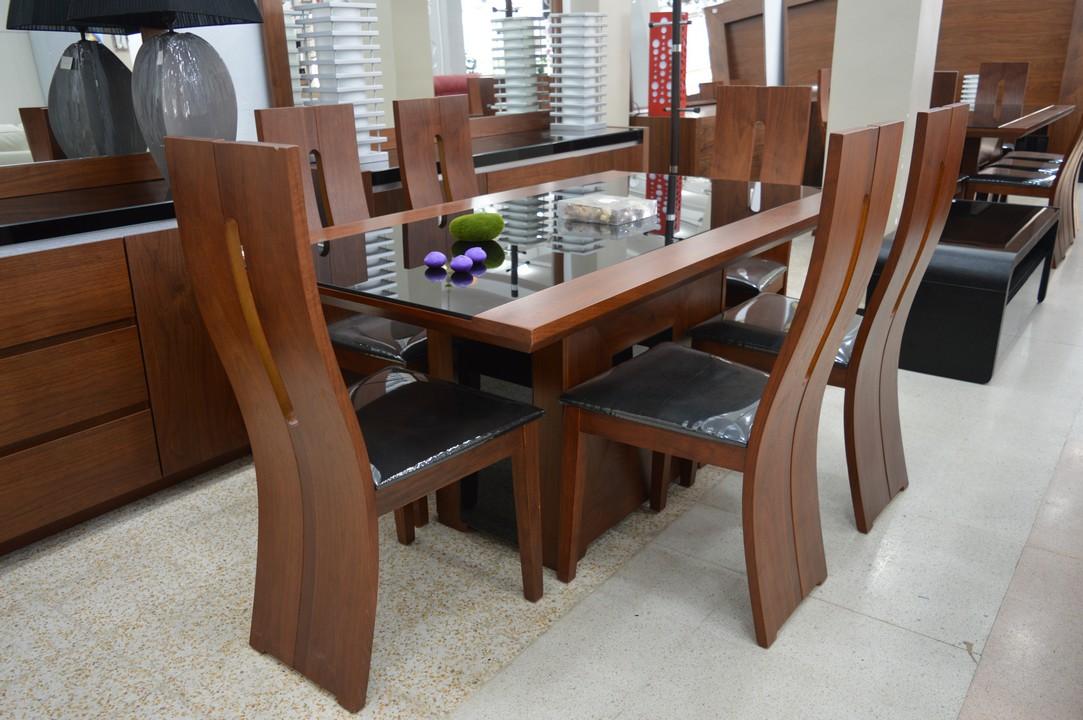 Accueil Meubles Tables Et Chaises Salles Manger Table Avec 6